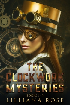 The Clockwork Mysteries E-Book Cover