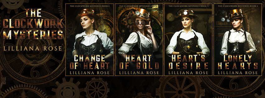 The Clockwork Mysteries Facebook Cover Art